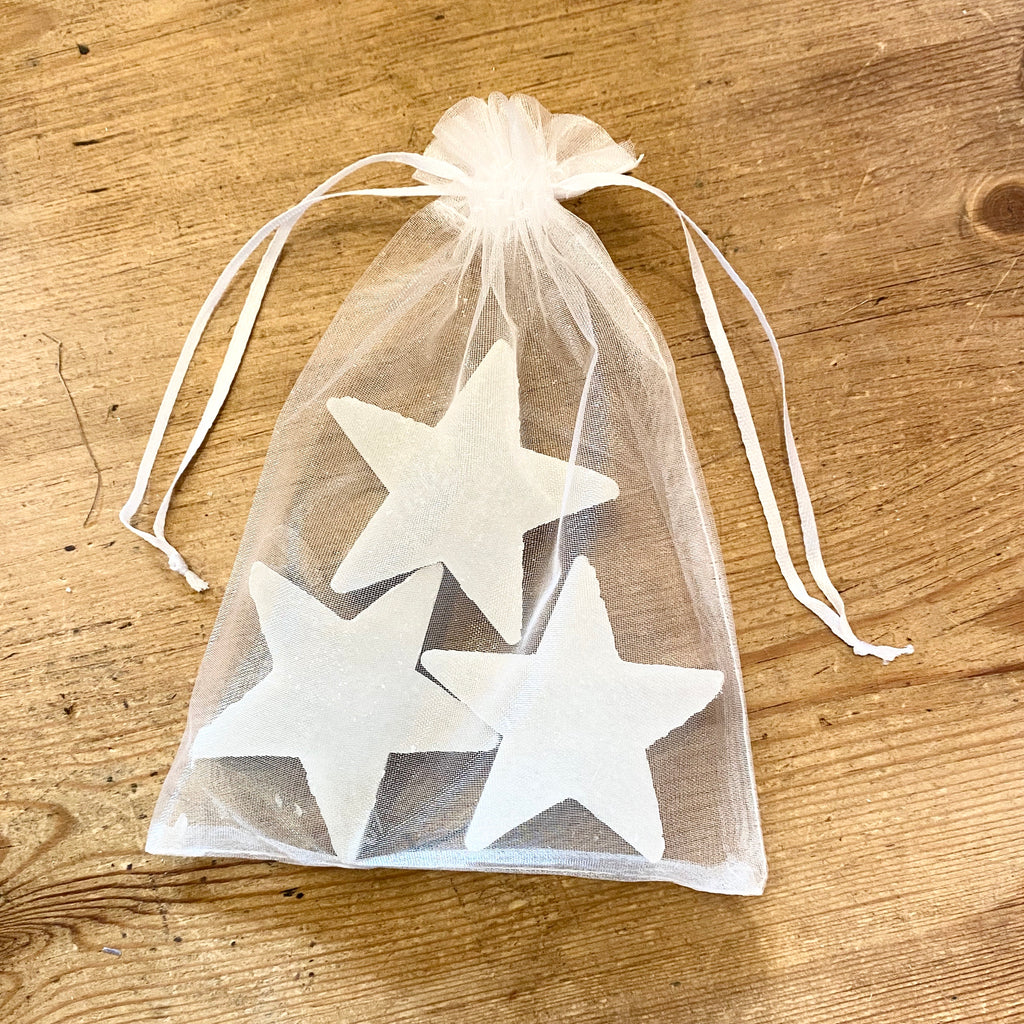 French Star Soaps Set of 3