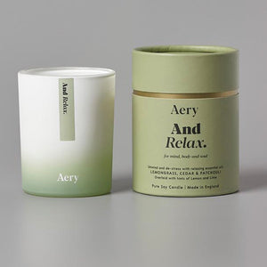 And Relax Candle by Aery - La Di Da Interiors