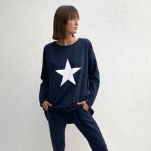 Charger l'image dans la galerie, Robyn Top Navy with White Star