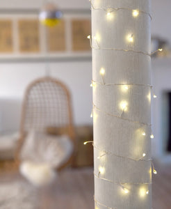Extra long warm white fairy lights 15m