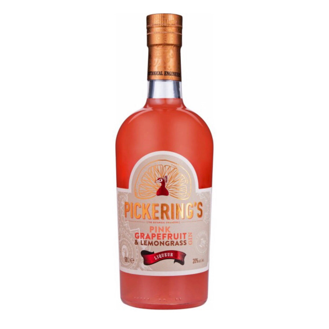 Pickering's Pink Grapefruit & Lemongrass Gin Liqueur - La Di Da Interiors