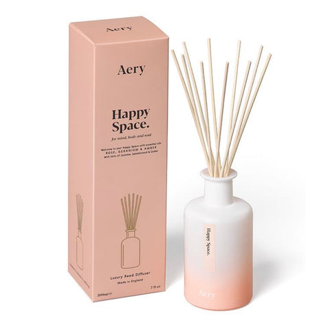 Happy Space Room Reed Diffuser by Aery - La Di Da Interiors