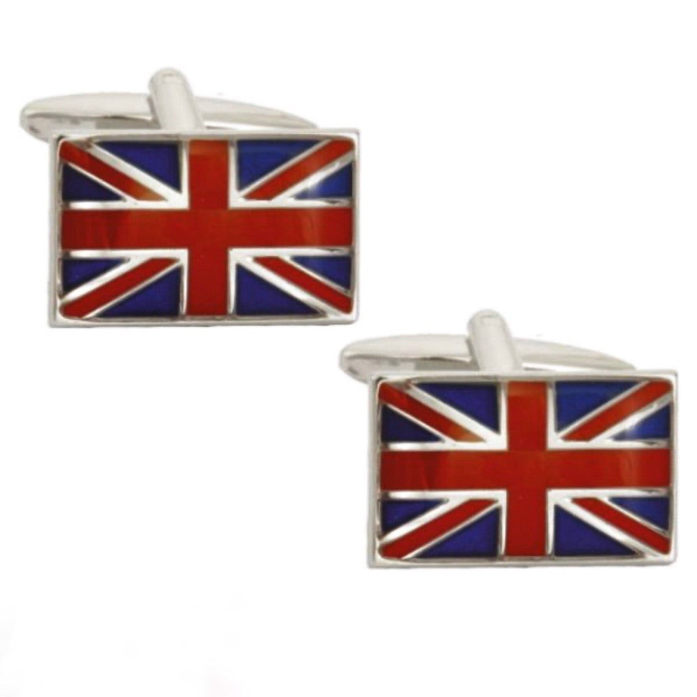 Union Flag Cufflinks - La Di Da Interiors