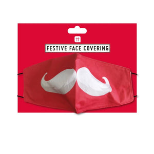 festive christmas face covering