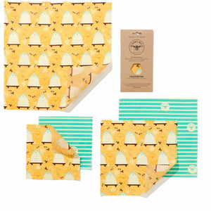 Beeswax Wraps - The Large Kitchen Pack - La Di Da Interiors
