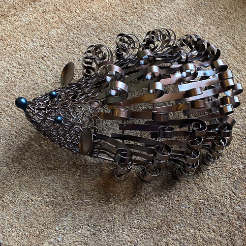 garden hedgehog ornament