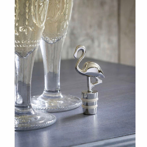 Flamingo Wine Bottle Stopper - La Di Da Interiors