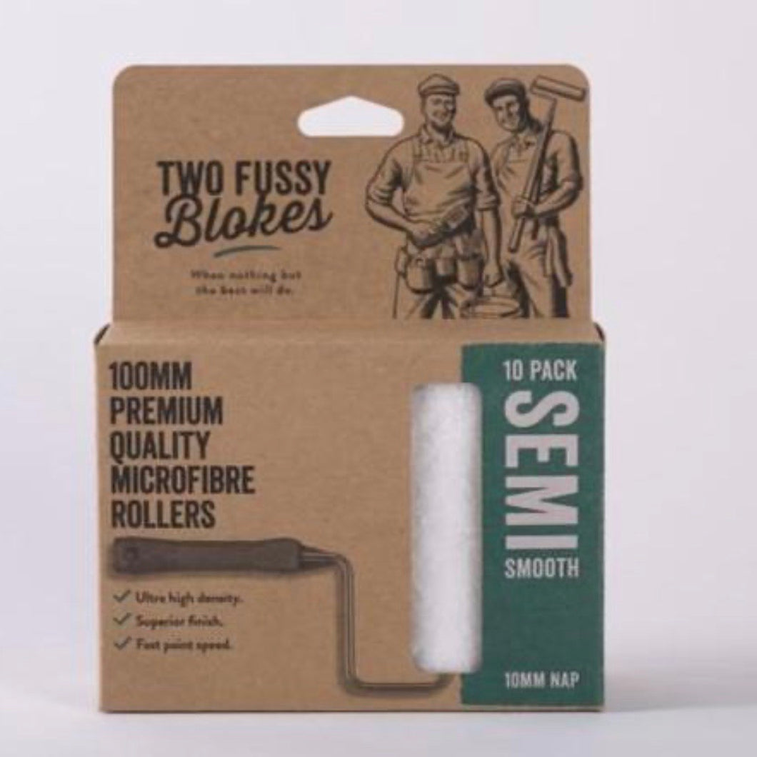 Two Fussy Blokes Mini Microfibre Roller Sleeve 5mm Semi-Smooth