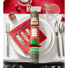 Load image into Gallery viewer, Nutcracker Christmas Table Name Placecards