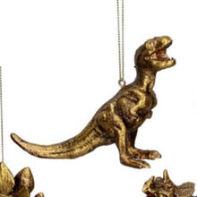 Load image into Gallery viewer, Gold Dinosaurs, Rex, Dippy, Steg & Tricky