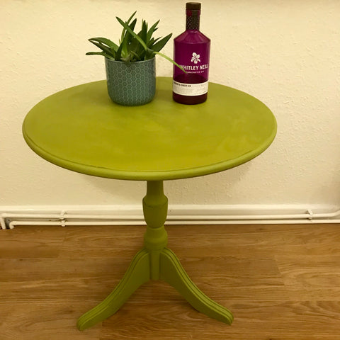 Genie the Green Gin Table SOLD - La Di Da Interiors