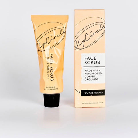 UpCircle Coffee Face Scrub Floral Blend