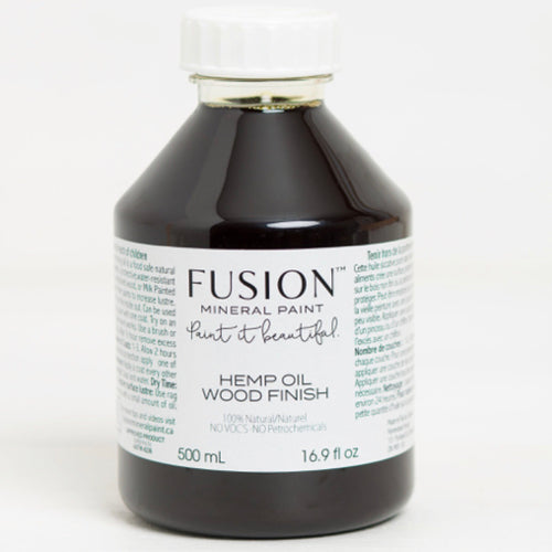Hemp Oil Wood Finish by Fusion 500ml - La Di Da Interiors