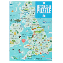 Load image into Gallery viewer, british map puzzle