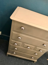 Charger l'image dans la galerie, Caramel Refinished Painted Chest of Drawers SOLD - La Di Da Interiors