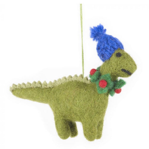 roary the dinosaur christmas decoration