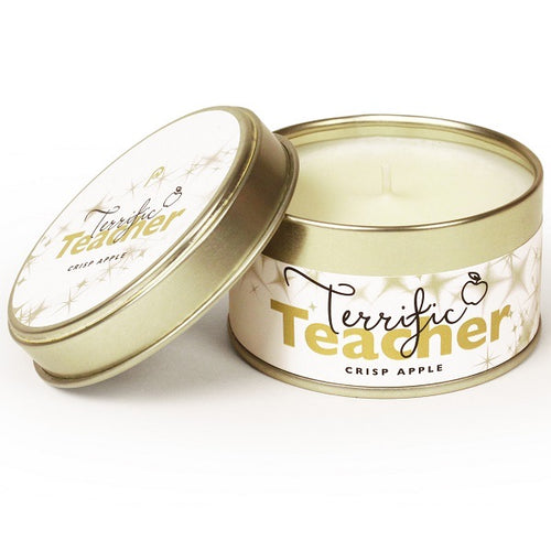 terrific teacher candle
