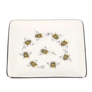 bee trinket dish by gisela graham