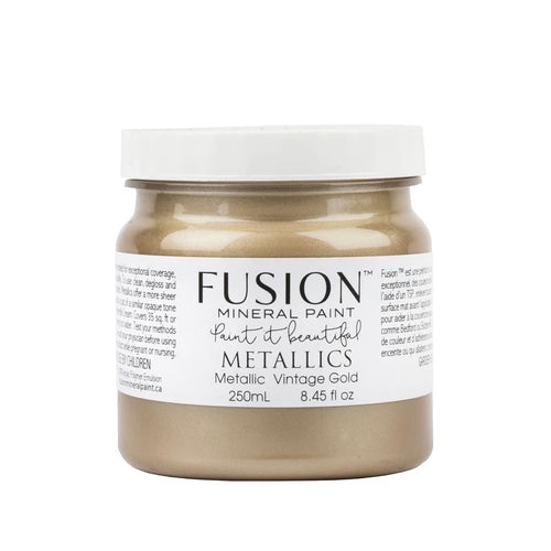 fusion metallic vintage gold paint