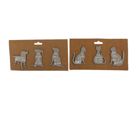 Cat or Dog Magnets Set