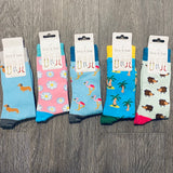 Luxury Bamboo Socks Ladies - La Di Da Interiors