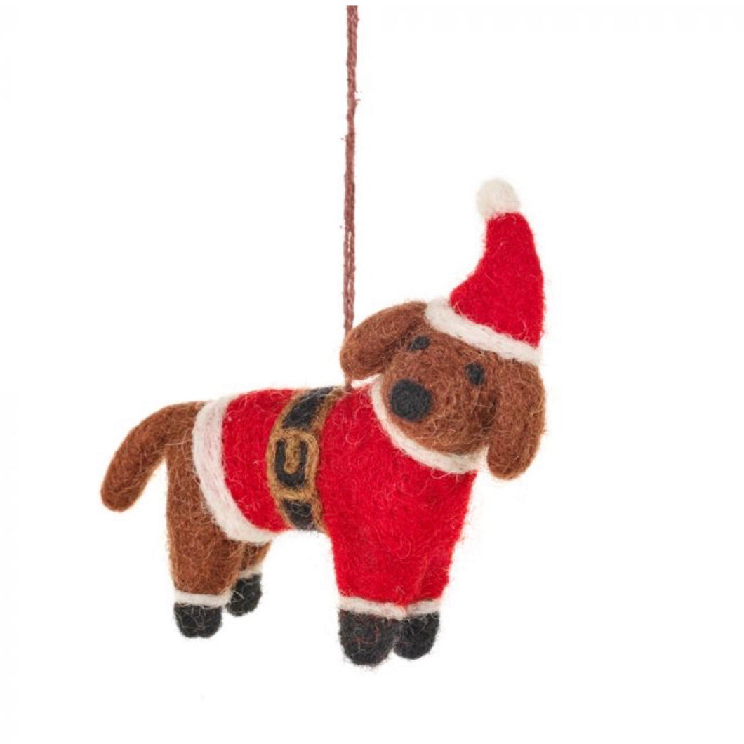 buddy the dog christmas tree decoration