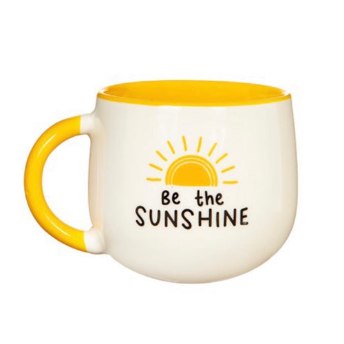 be the sunshine yellow mug