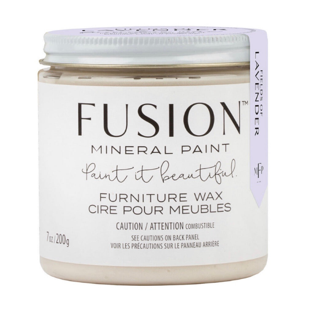 Fusion Fields of Lavender Clear Furniture Wax