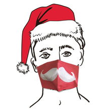 Load image into Gallery viewer, santa face mask