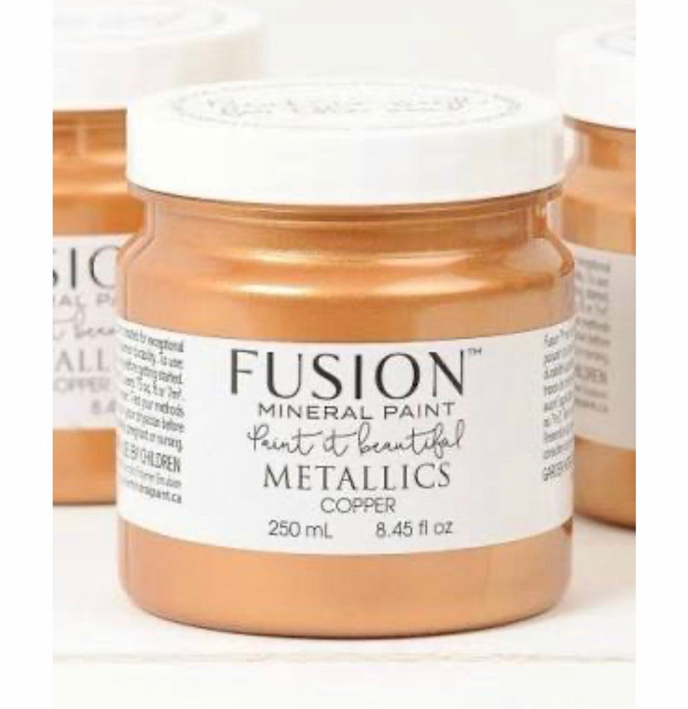 Fusion Mineral Paint Metallic Copper - La Di Da Interiors