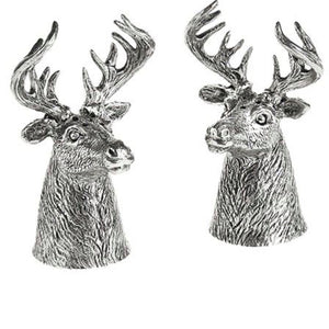 Stags Head Salt & Pepper Cruet Set - La Di Da Interiors