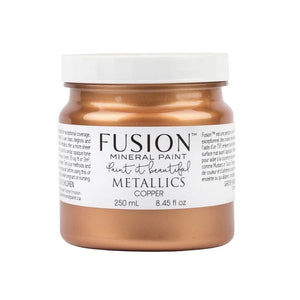 Fusion Mineral Paint Metallic Copper 250ml