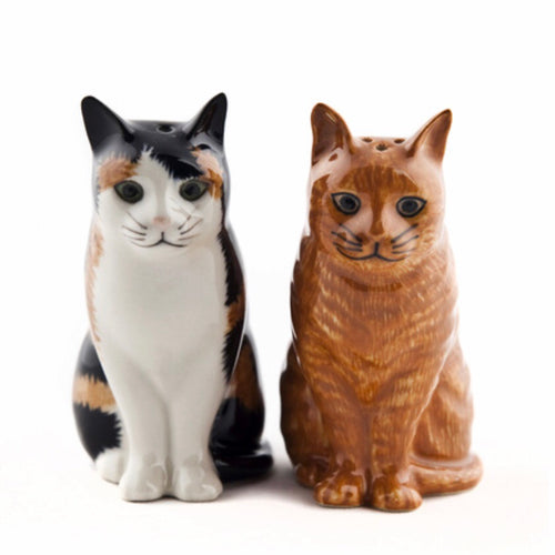 Cat Salt & Pepper Cruet - La Di Da Interiors
