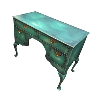 Ariel Painted Desk SOLD - La Di Da Interiors