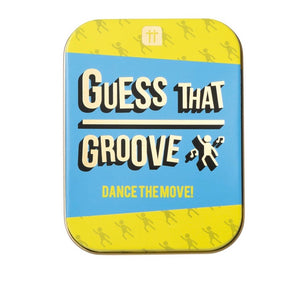 Guess that Groove Game in a tin - La Di Da Interiors
