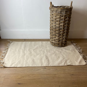Neutral Cotton Rug
