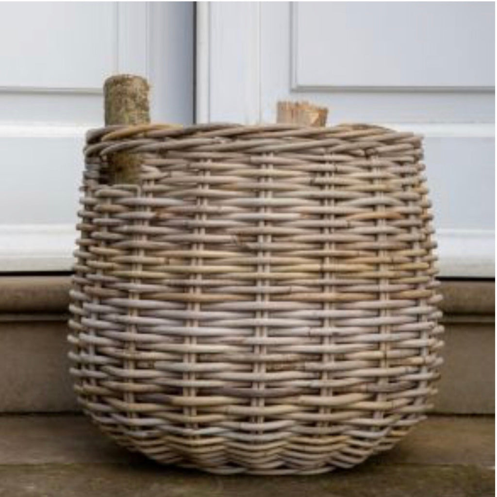 Kubu Basket ideal for logs - La Di Da Interiors