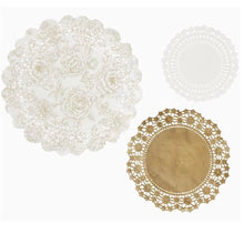 Load image into Gallery viewer, Metallic gold paper doilies - La Di Da Interiors