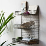 Wire shelf unit - La Di Da Interiors