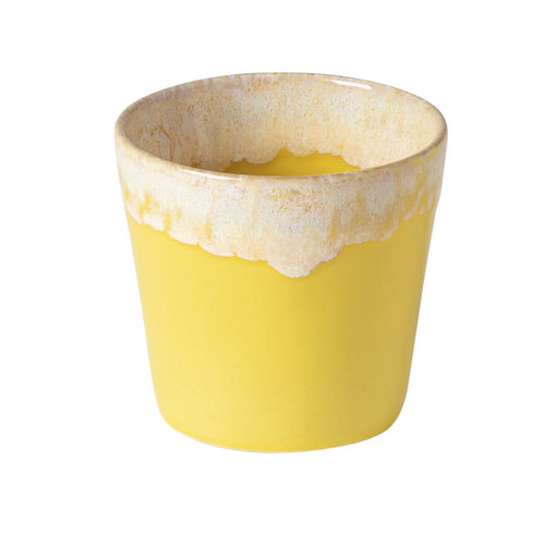 yellow lungo cup