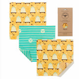 Beeswax Wraps - The Cheese Wrap Pack - La Di Da Interiors
