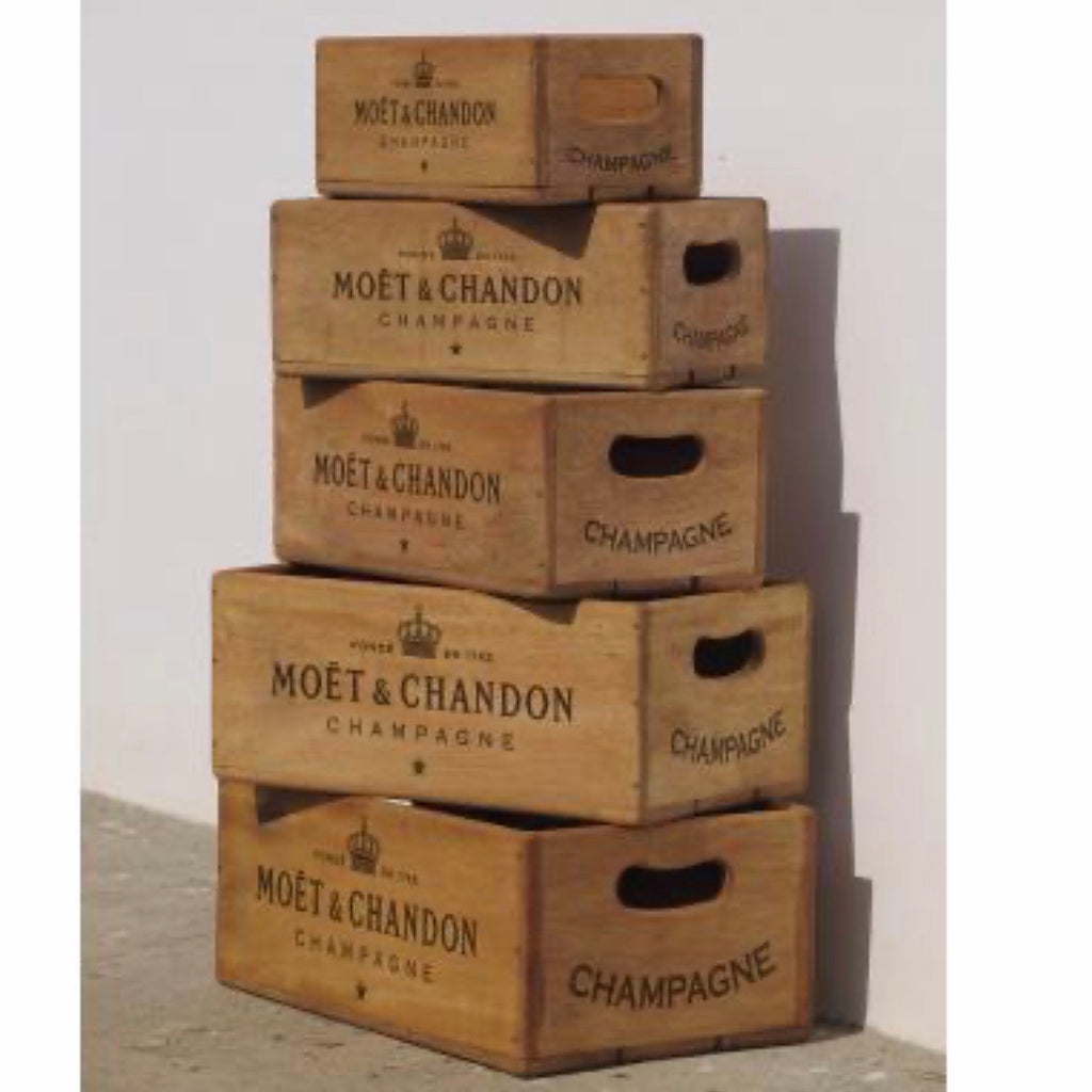 Moët & Chandon Champagne Boxes - La Di Da Interiors
