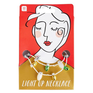 light up necklace by talking tables