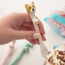Load image into Gallery viewer, Dog Ceramic Spoon