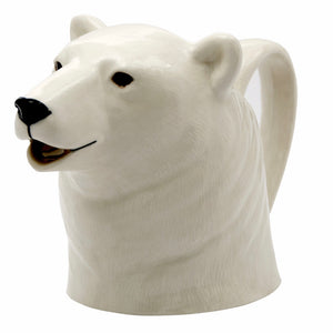 Polar Bear Jug by Quail - La Di Da Interiors
