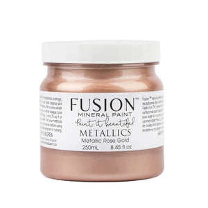 Fusion Mineral Paint Metallic Rose Gold 250ml