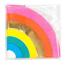 Load image into Gallery viewer, Rainbow paper napkins