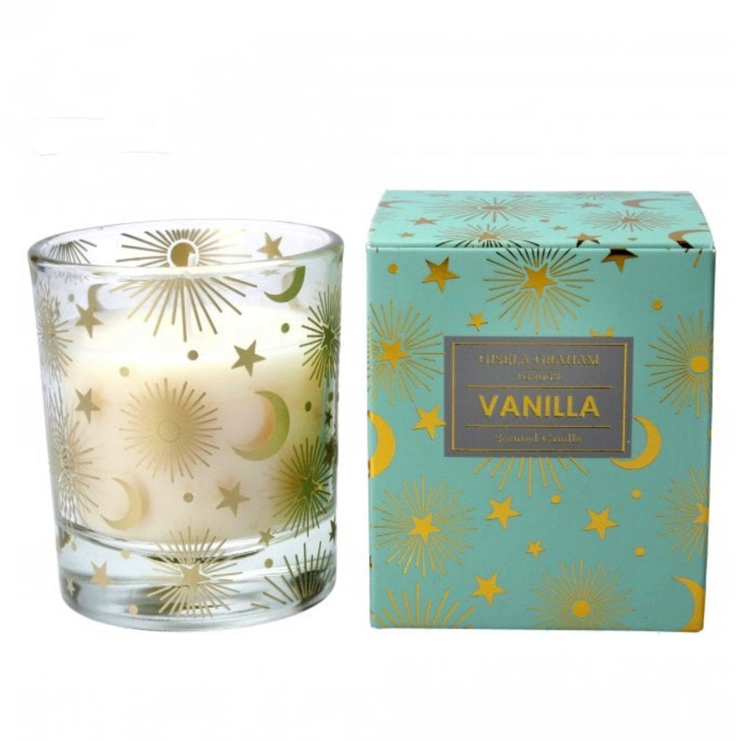 Vanilla Scented Boxed Candle