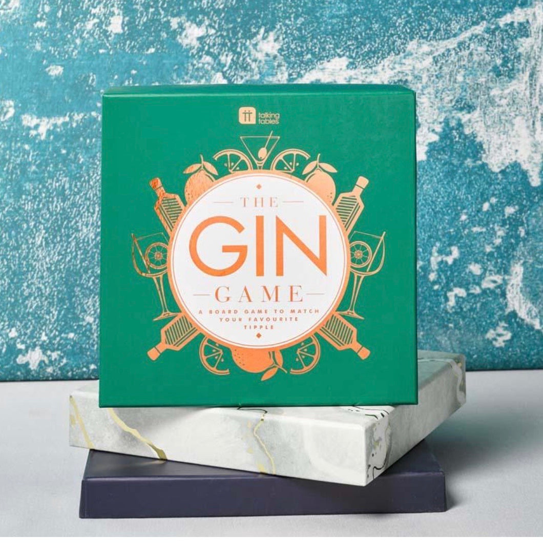 The Gin Game - board game for Gin lovers - La Di Da Interiors