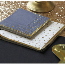 Charger l'image dans la galerie, Gold and white star paper napkins - La Di Da Interiors